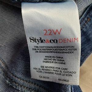 Style & Co Jackets & Coats - Style & Co. Denim Jean Jacket